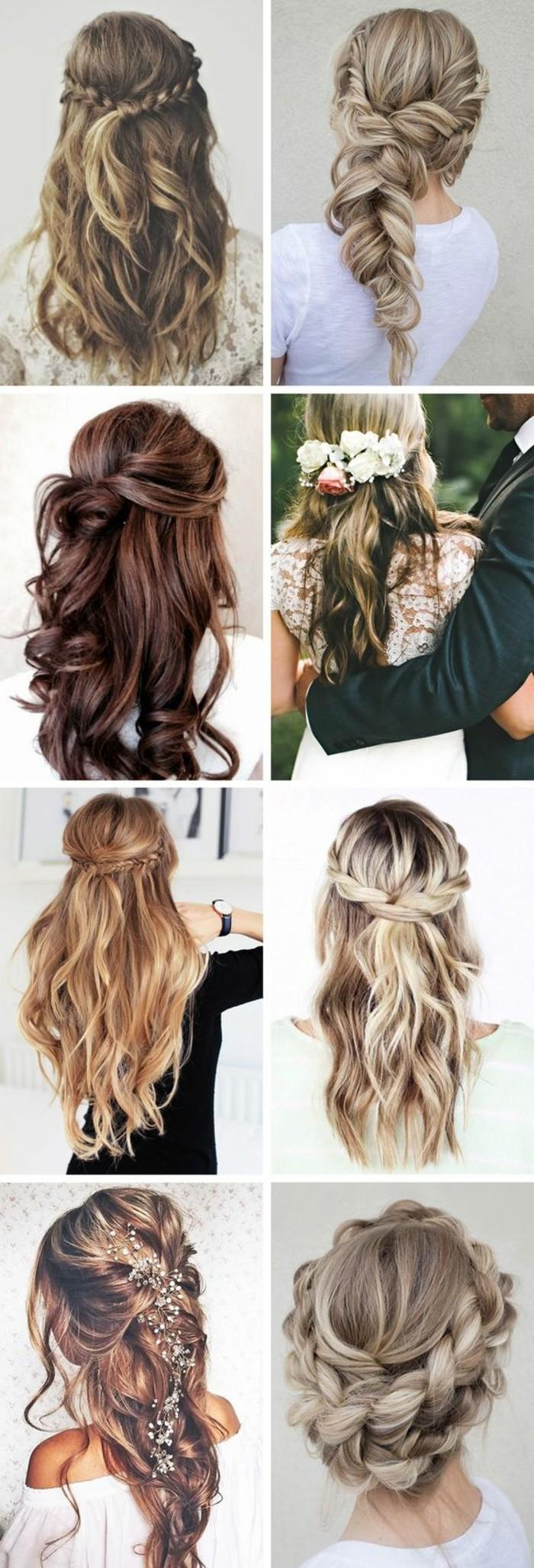 alltagsfrisuren-lockige-haare-blumen-frauen-zopfe-ideen-haarfrisur