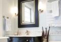 Eine schöne Perle im Bad ist der Badspiegel