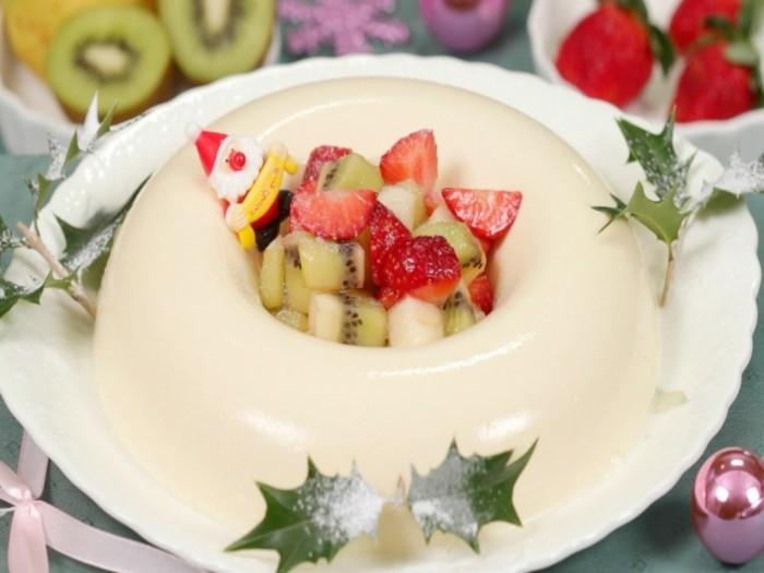 bayerische-creme-nachspeise-weihnachten-leichtes-dessert