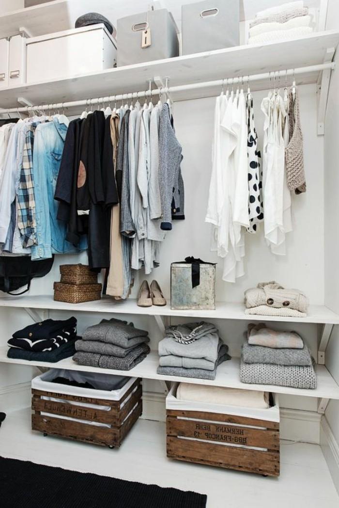 1001 ideen f r offener kleiderschrank tolle wohnideen for Kleiderschrank gestalten