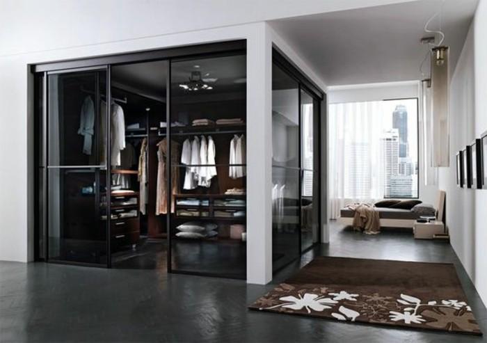 Offener Kleiderschrank In Kleinem Zimmer ~  Komfort – begehbarer Kleiderschrank mit Toilettentisch und Kommode