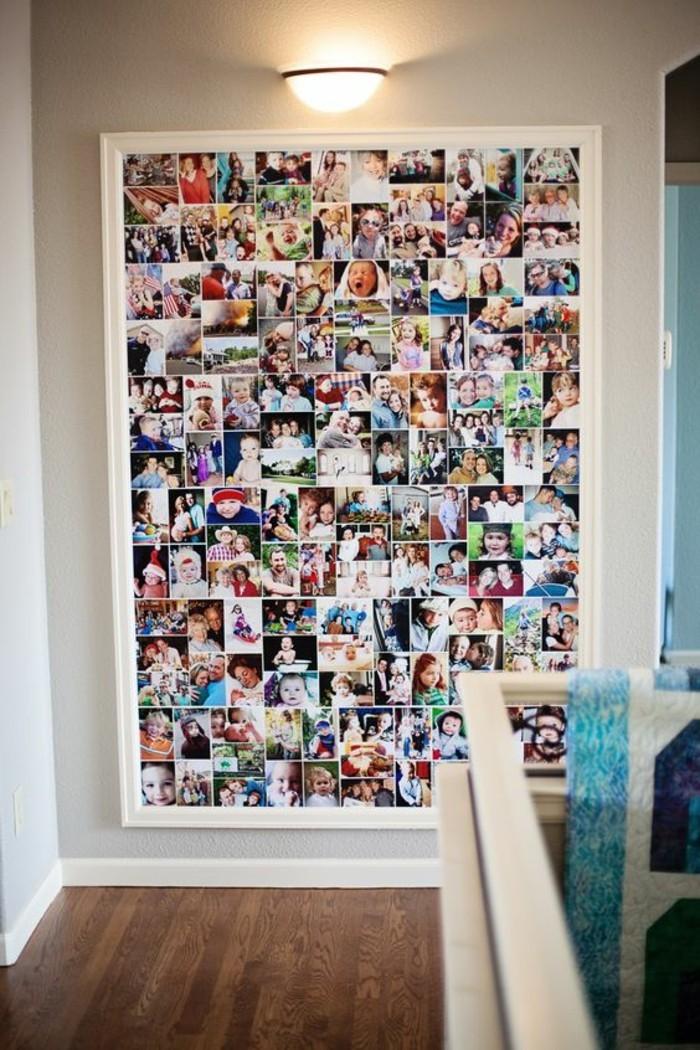 bilderrahmen-basteln-familienfotos-lampe-boden-aus-holz