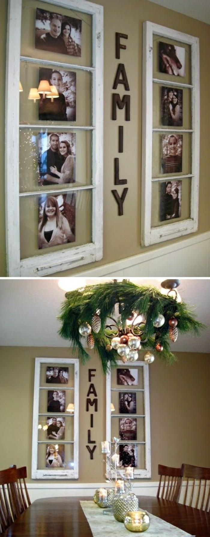 bilderrahmen-selber-machen-weise-alte-rahmen-tisch-stuhle-weihnachtsdeko