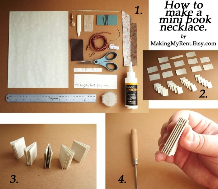 ein kleines buch basteln 84 ideen und bauanleitungen. Black Bedroom Furniture Sets. Home Design Ideas