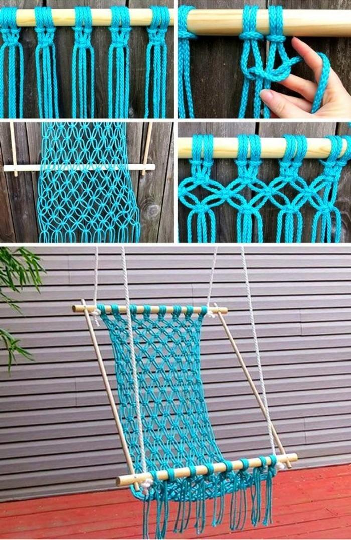 einfache-bastelideen-haengematte-mit-blauer-seile-selber-machen