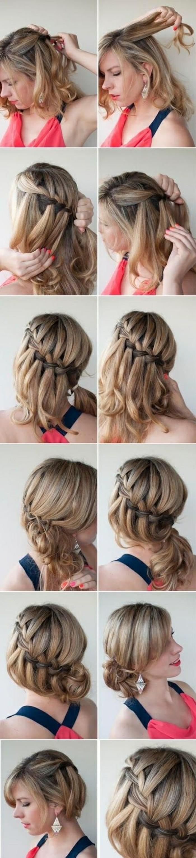 Leichte frisuren bei schulterlangen haaren