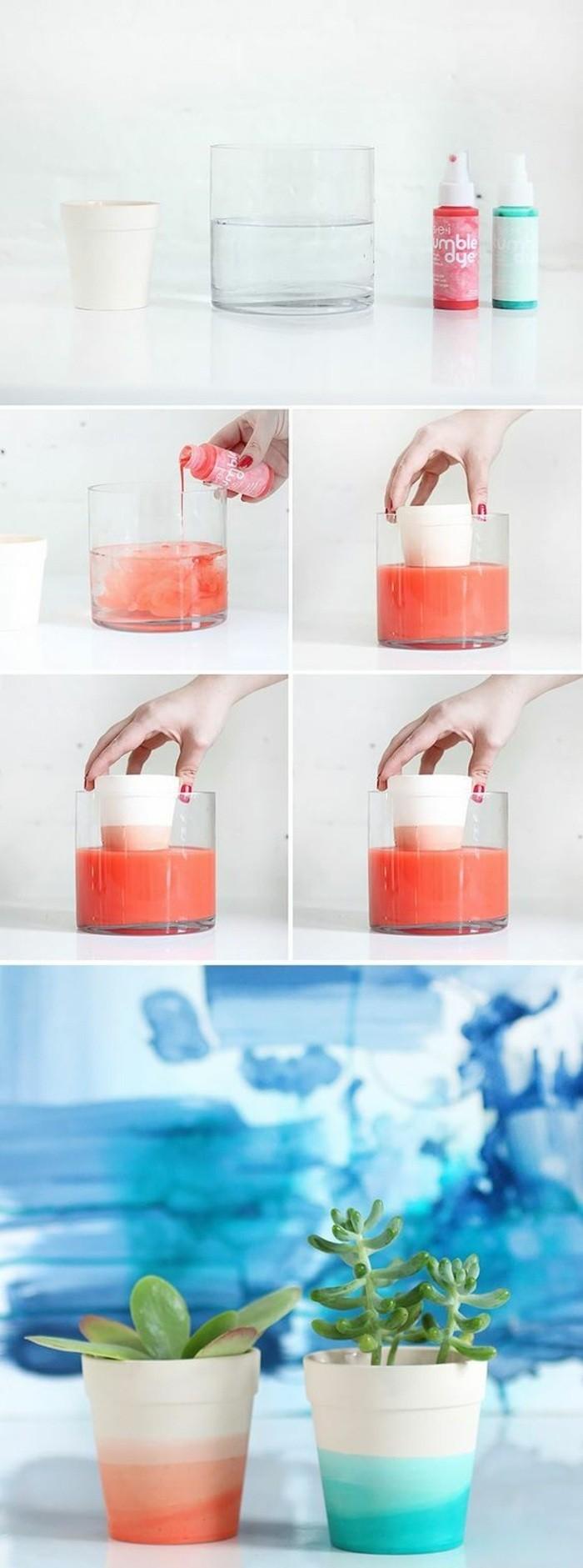 kreatives-basteln-blumentoepfe-mit-nagellack-verzieren