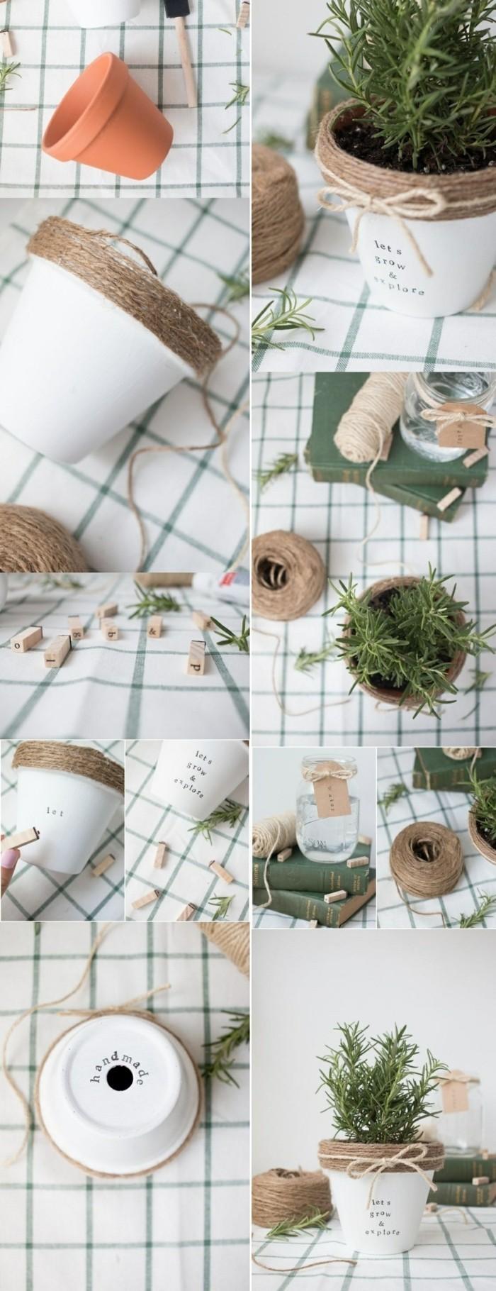 kreatives-basteln-blumentopf-gruene-pflanze-dekoration