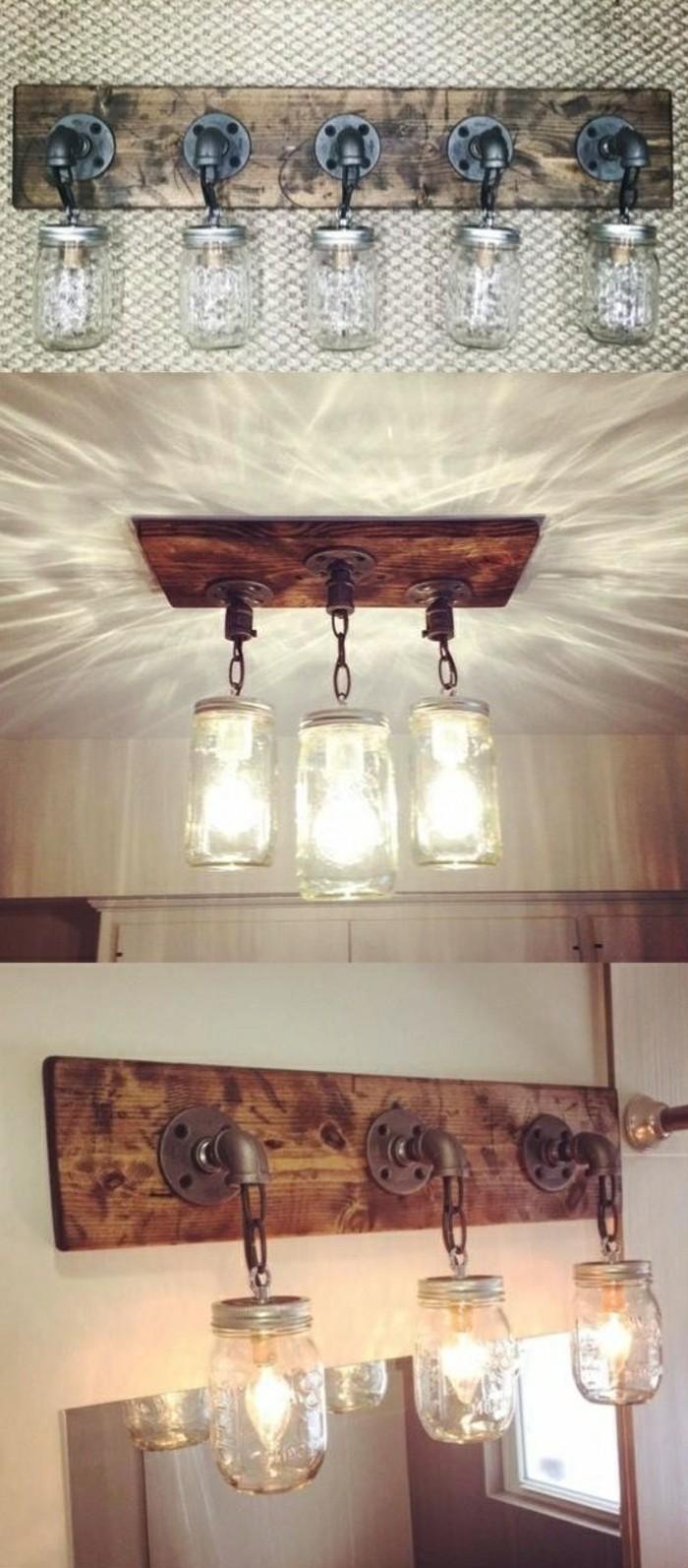 lampe-basteln-holz-glaser-licht-gluhbirnen-wanddeko