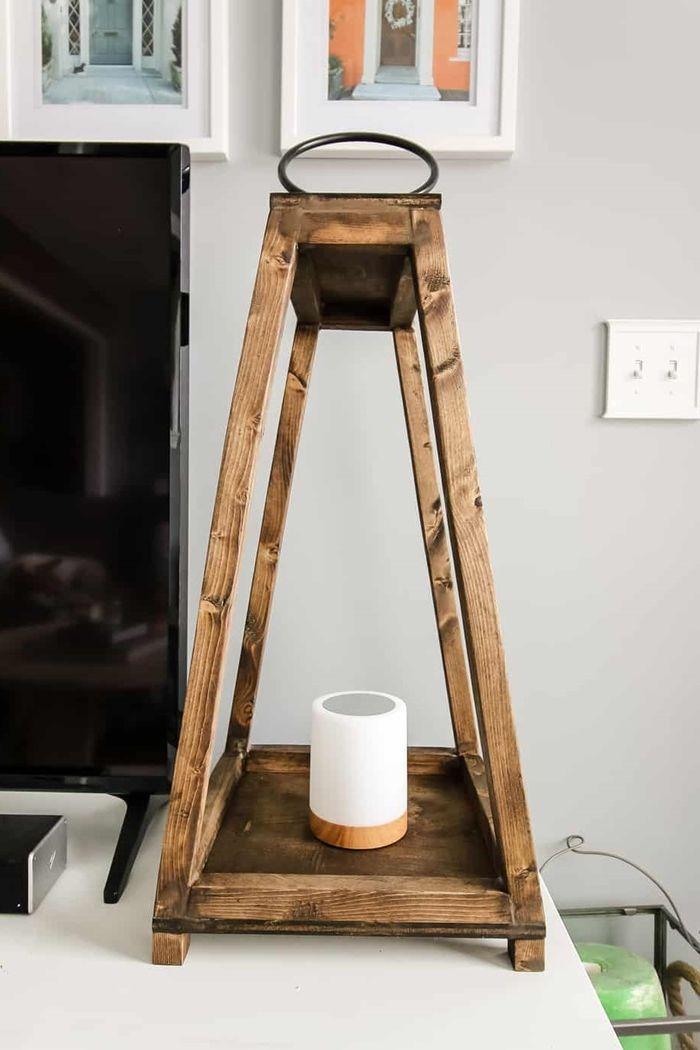 lampen selber machen holzlampe windlicht diy leuchten zimemrdeko selbst bauen deko für zuhause