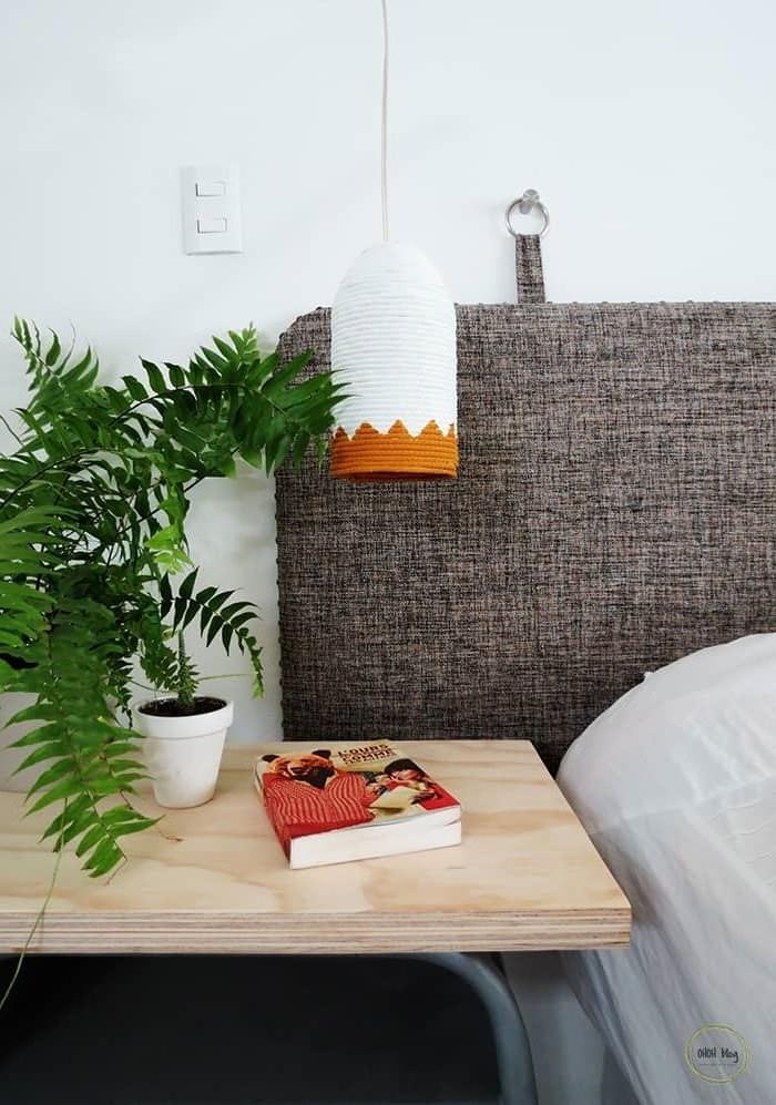 lampenschirm selber machen wohnzimmerdeko ideen bastelideen und anleitungen lampe aus plastikflasche und seil