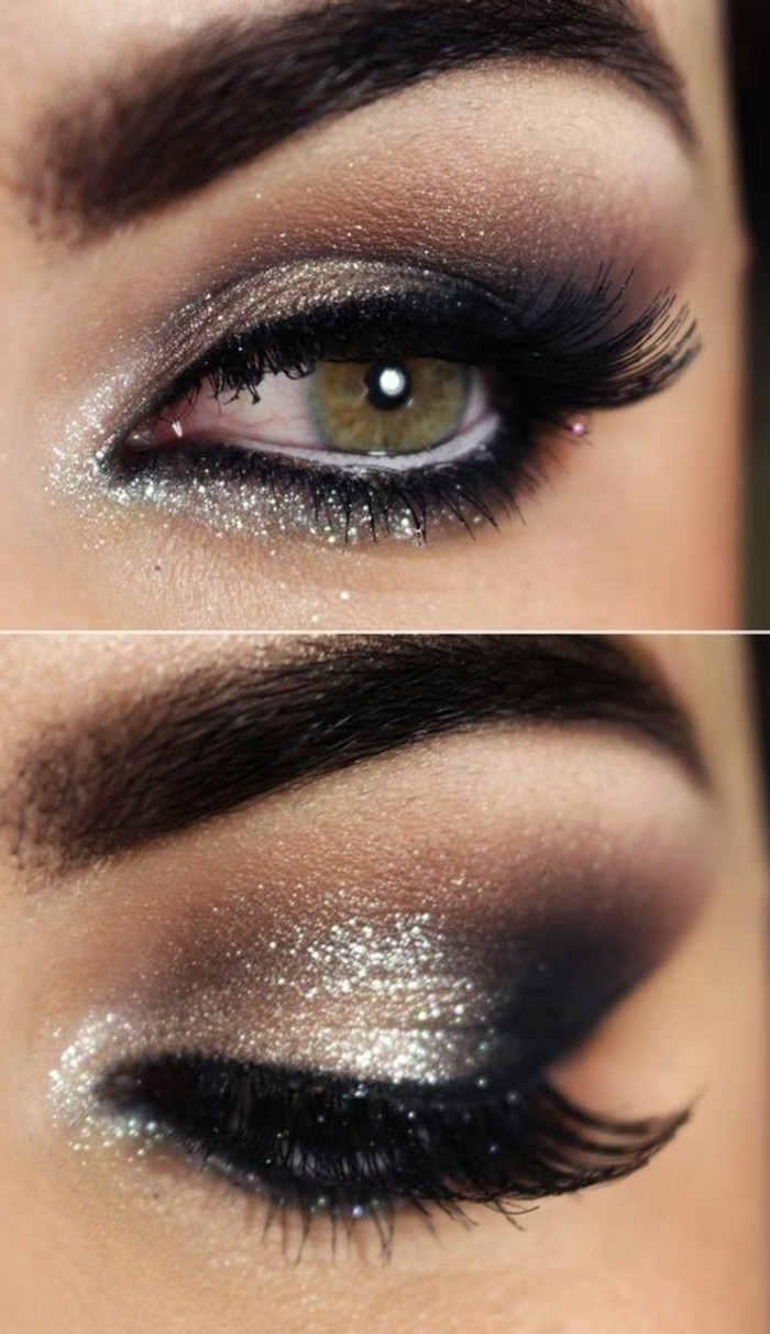 1001 Ideen Für Silvester Make Up Trendy Feiern