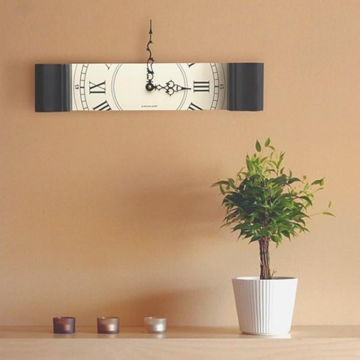 55 kreative ideen für tolles modernes wanduhr design - archzine, Wohnzimmer