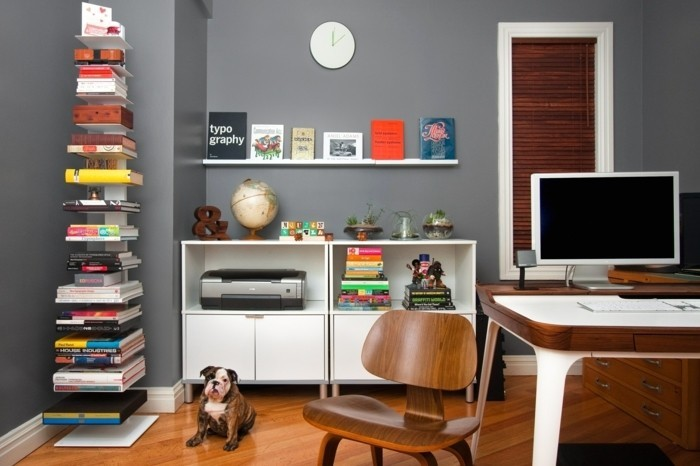 modernes-bücherregal-ein-weißes-regal-in-arbeitszimmer