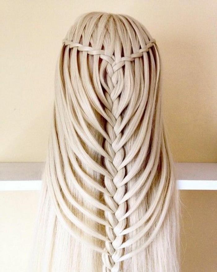 schone-haarfrisuren-blonde-lange-glatte-haare-zopf-frisur-frauen