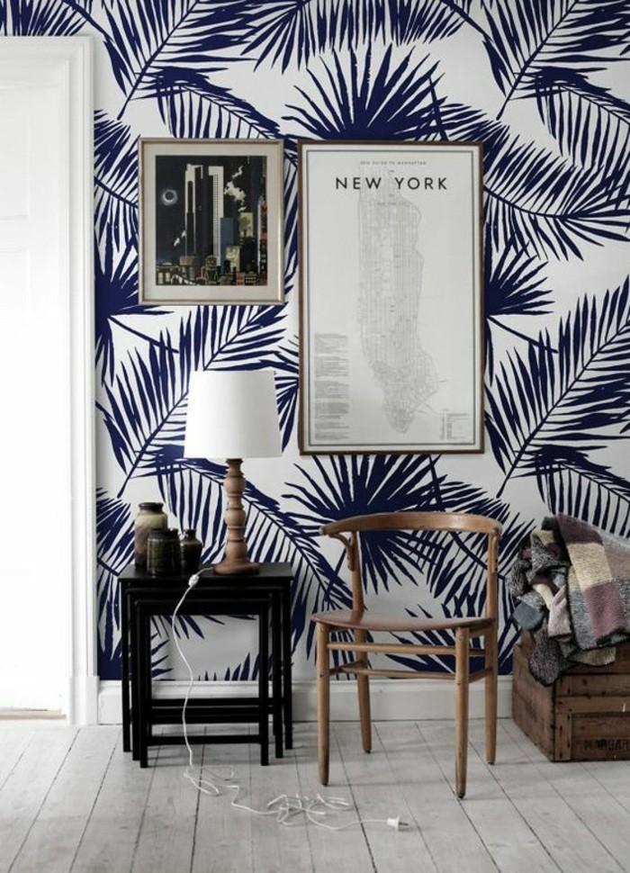 tapeten ideen f r eine ausgefallene wandgestaltung. Black Bedroom Furniture Sets. Home Design Ideas