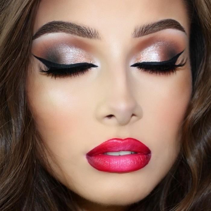 silvester-festlich-schminken-zyklam-lippe-lipliner-lippenstift-lidstrich-lidschatten