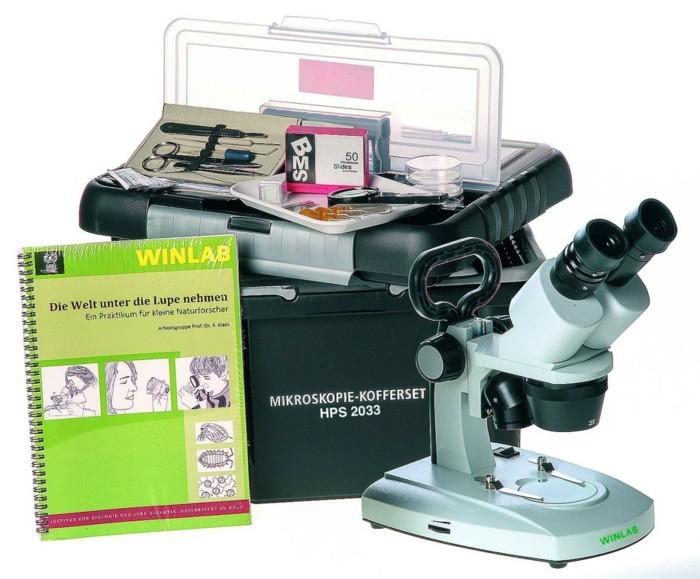 Mikroskope die geräte des wissenschaftlichen fortschritts