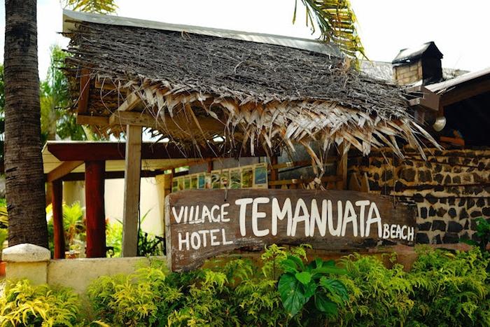 bora bora insel aufenthalt schöne reise mit freunden spaß auf bora bora haben village temanuata hotel