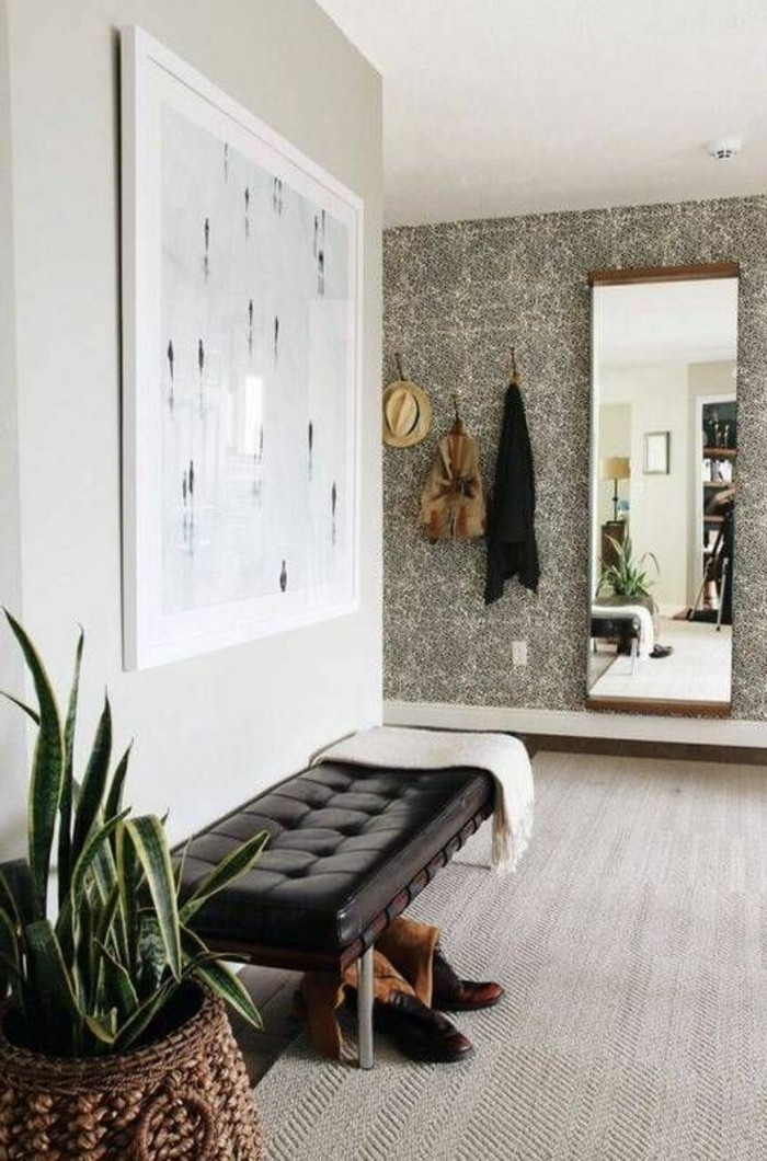 tapeten ideen f r eine ausgefallene wandgestaltung. Black Bedroom Furniture Sets. Home Design Ideas