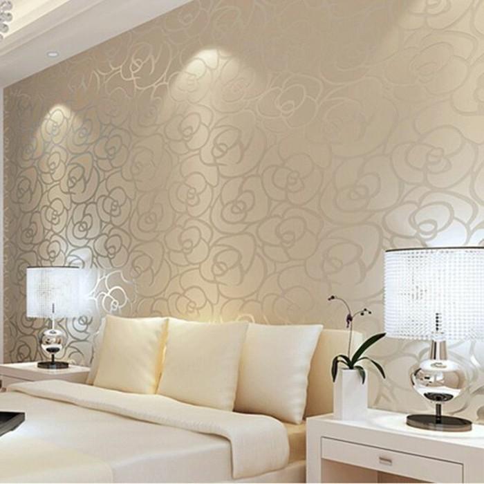 Tapeten ideen f r eine ausgefallene wandgestaltung for Wandtapete schlafzimmer