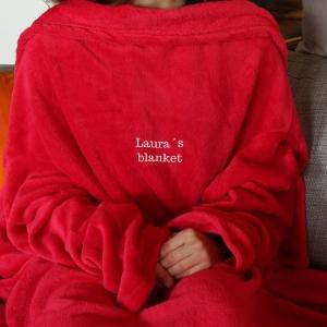 Hugz - Decke mit Ärmeln für gemütliche Erholung