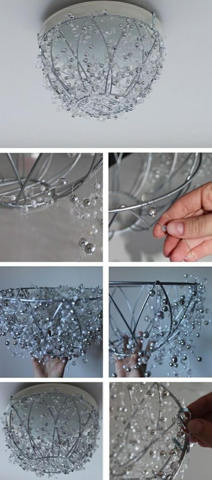 wohnideen-selber-machen-kronleuchter-aus-metal-und-kristall-gestalten