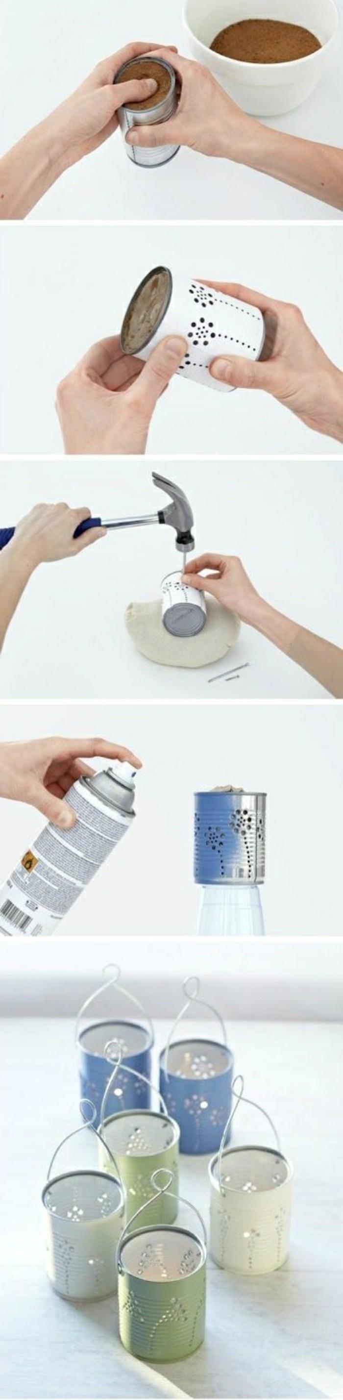 zimmer-dekorieren-kerzen-dosen-mit-spray-verzieren