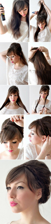 1111111-hochsteckfrisuren-lange-haare-make-up-ideen-frisur-diy-anleitung-zöpfe-binden