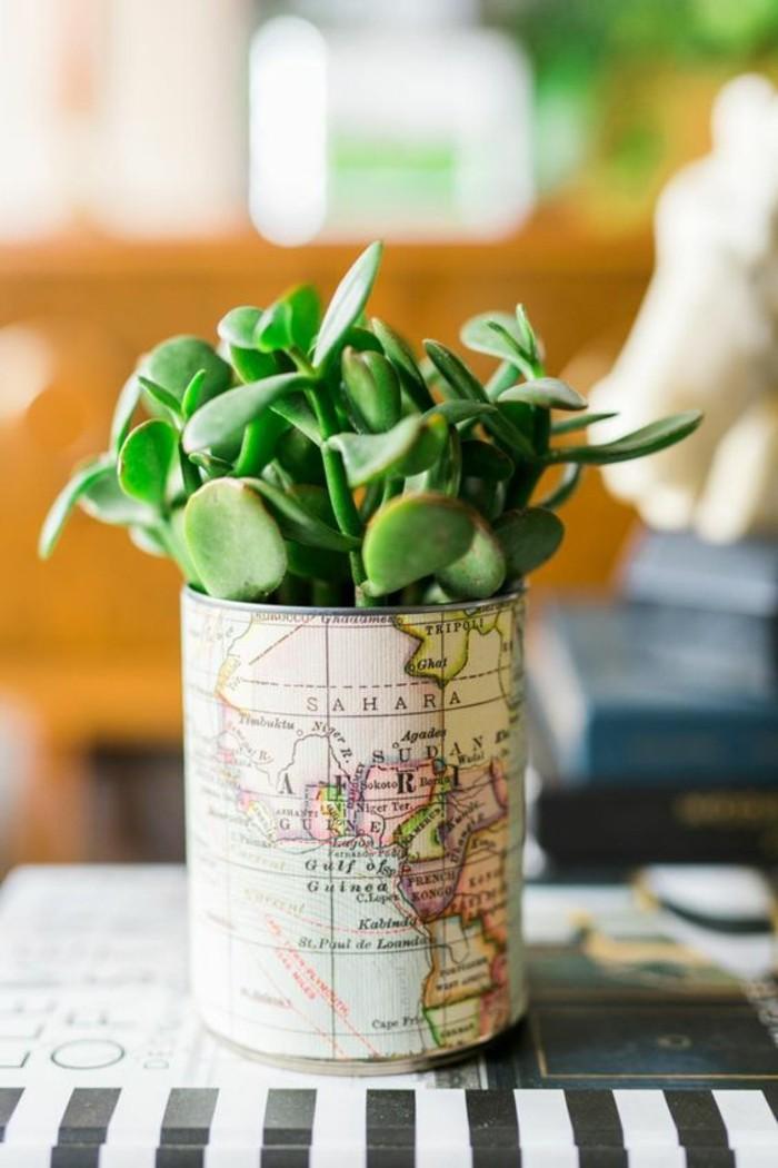 4-basteln-mit-konservendosen-karte-blumentopf-gruene-pflanze-dose-diy