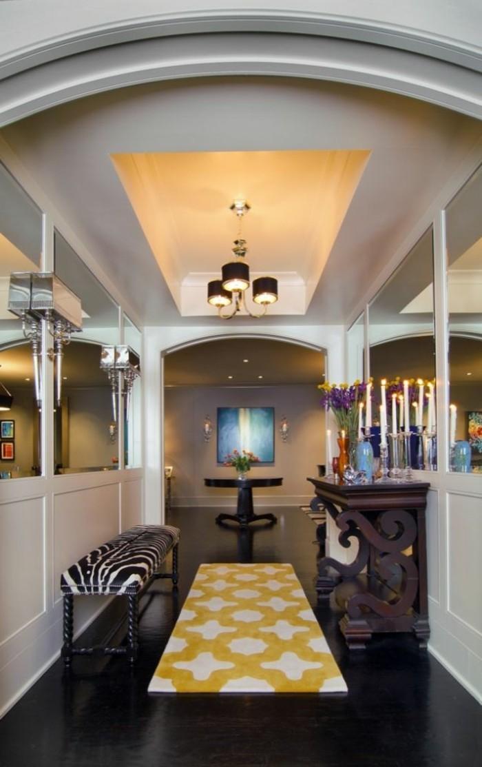 1001 ideen f r dunklen flur heller gestalten tipps und. Black Bedroom Furniture Sets. Home Design Ideas