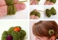 Über 40 kreative Vorschläge, wie Sie Haarspangen selber machen