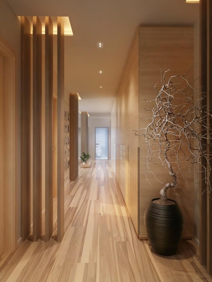 1001 ideen f r langen flur gestalten eine gro e. Black Bedroom Furniture Sets. Home Design Ideas