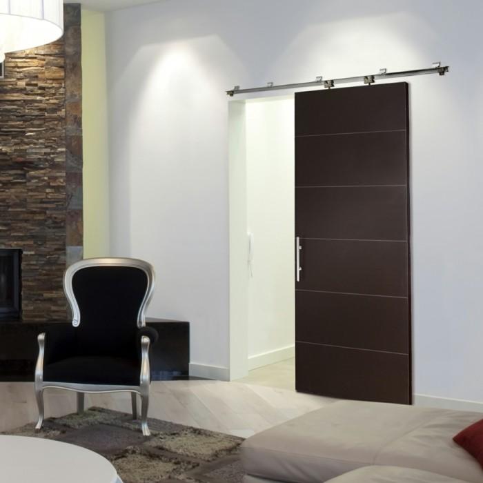 Schiebetüren Wohnzimmer 1001 ideen für schiebetüren selber bauen ganz handlich