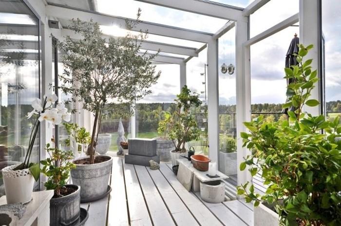 44 Ideen Für Einladenden Veranda Wintergarten - Archzine.net Terrasse Gestalten 10 Einrichtungsideen Fur Veranda Und Wintergarten