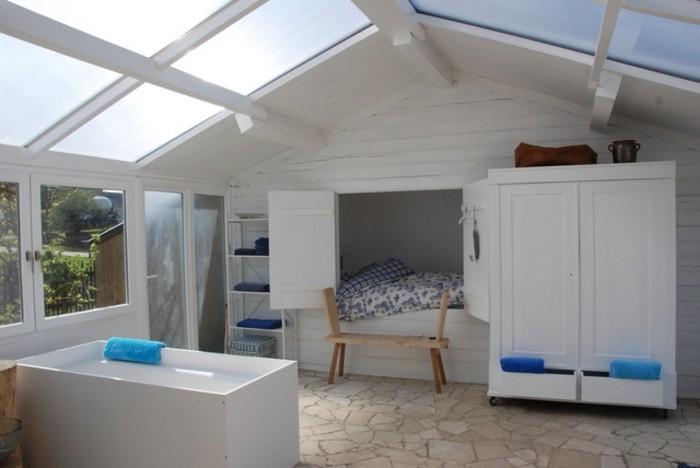 44 ideen f r einladenden veranda wintergarten. Black Bedroom Furniture Sets. Home Design Ideas