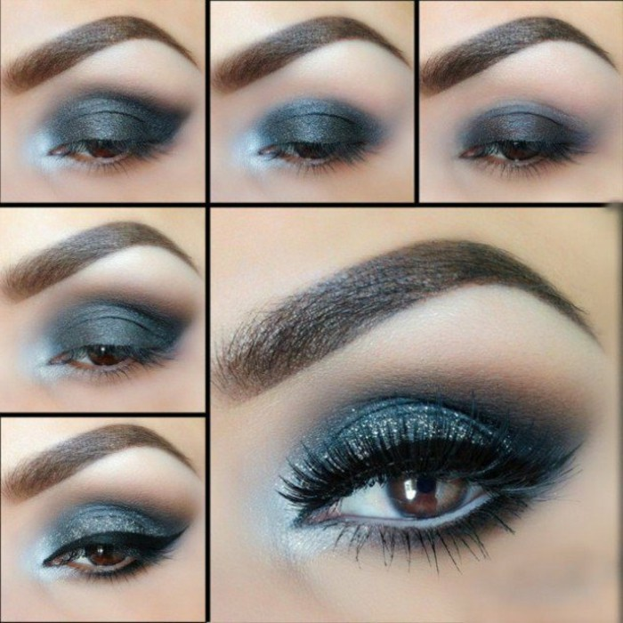 Makeup smokey eyes anleitung mugeek vidalondon - Elegantes make up anleitung ...