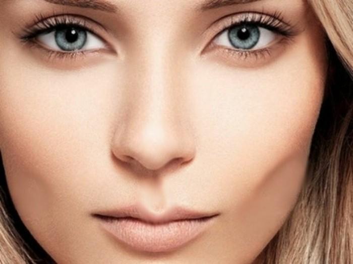 augen-schminken-natuerlicher-look-naturell-schoene-frau-blond-blaue-augen