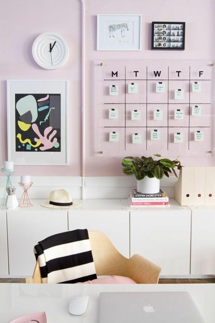 Arbeitszimmer wandgestaltung  ▷ 1001+ tolle Ideen, wie Sie Ihr Arbeitszimmer gestalten können