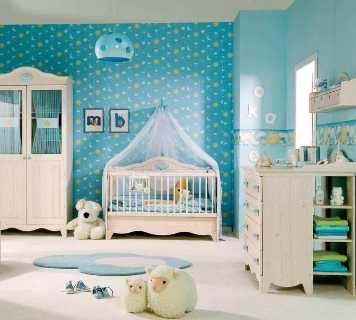 Frische Babyzimmer Ideen für gesunde und glückliche Babys ... | {Jungen babyzimmer 49}