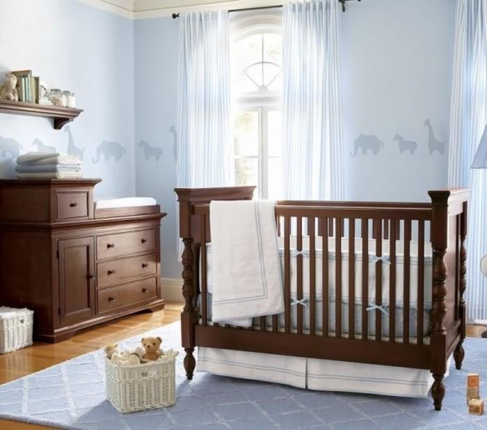Babyzimmer holz  Frische Babyzimmer Ideen für gesunde und glückliche Babys ...