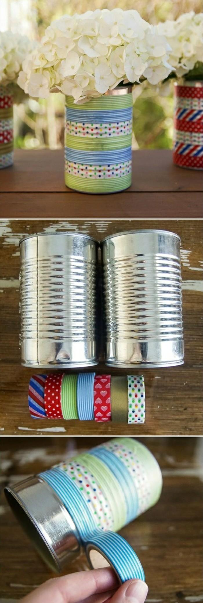 basteln-mit-konservendosen-blumentopf-waschi-tapes-weisse-blumen-selber-machen