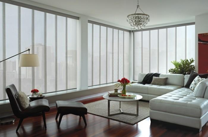 fenster-dekorieren-ideen-für-wohnzimmer
