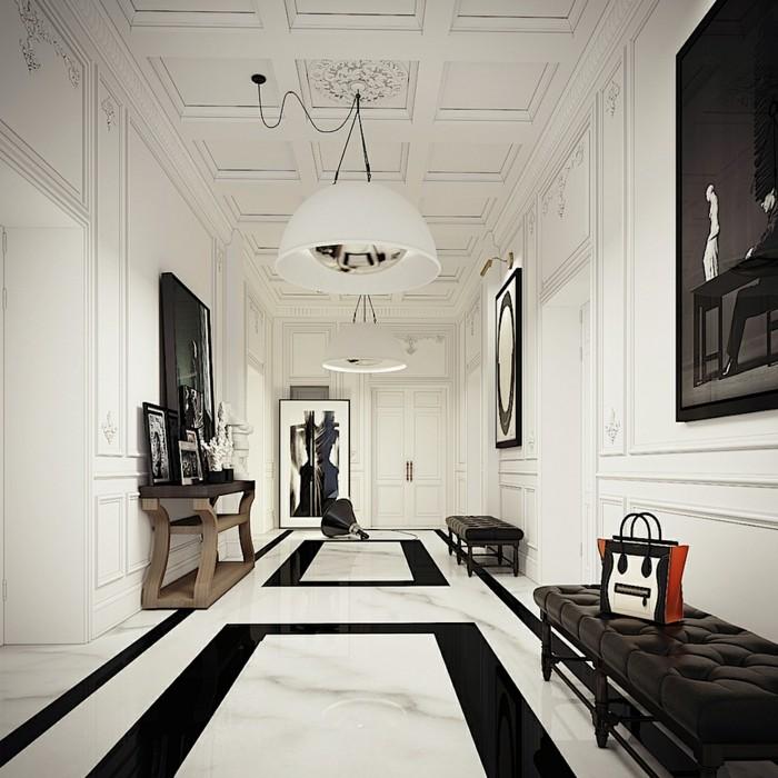 ▷ 1001+ ideen für langen flur gestalten - eine große herausforderung, Wohnideen design