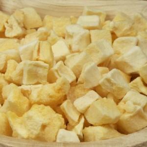 Mangostücke gefriergetrocknet