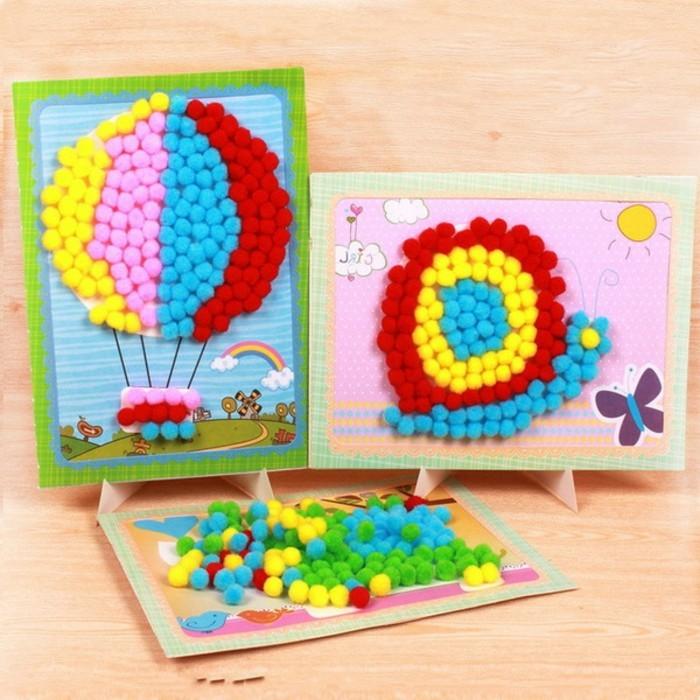 geschenk-für-opa-basteln-gefärbtes-papier-