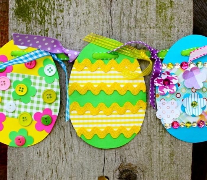 geschenk-für-opa-basteln-ostereier-aus-karton-schleife-knopfen