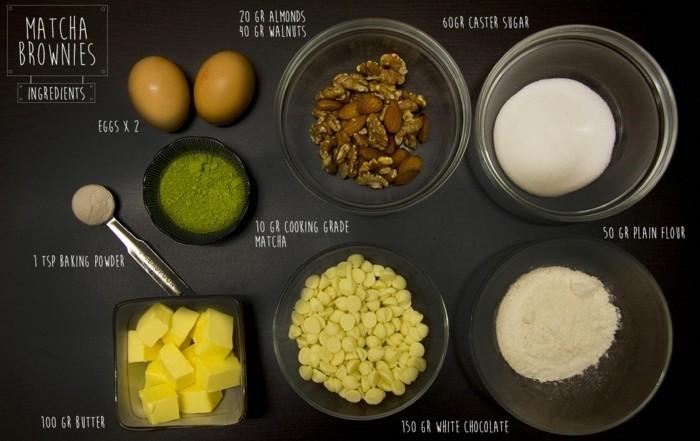 gruener-tee-matcha-rezepte-fuer-matcha-brownies-eier-zucker-schokolade-nuesse