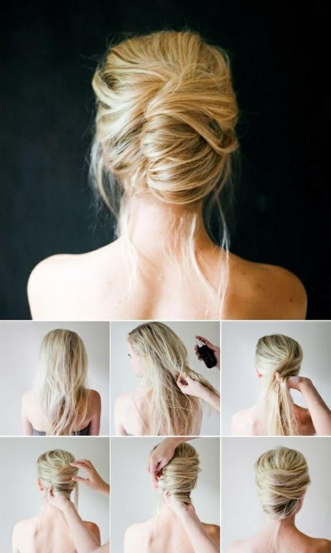 hochsteckfrisuren-zum-nachmachen-lange-blonde-haare-hochstecken-anleitung-frisur