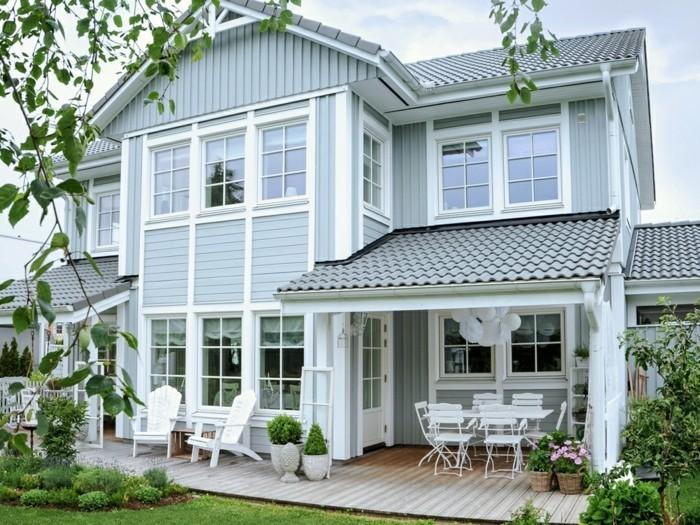 1001 Tolle Ideen Fur Amerikanisches Holzhaus Mit Veranda